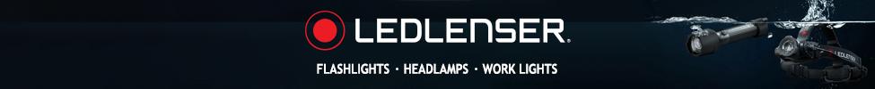 Ledlenser Flashlight Banner