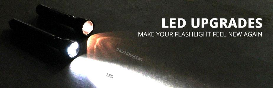 Upgrade Your Flashlight to LED