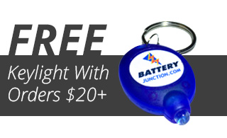 Battery Junction Free Keylight On Purchases Over $20 Promo